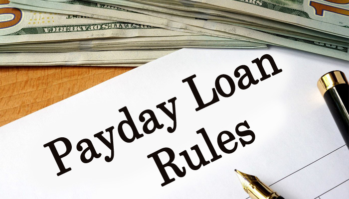 payday loan rules
